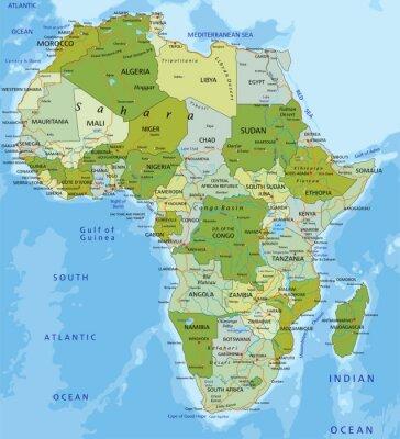 Obraz Afryka.