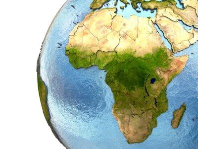 Obraz Afryka na Ziemi