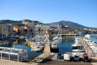 Ajaccio Hafenbild