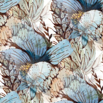 Obraz Akwarela kwiaty