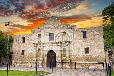 Obraz Alamo, San Antonio, TX