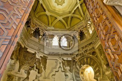 Aljaferia Pałac w Saragossa, Hiszpania
