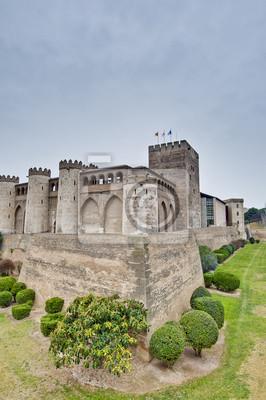 Obraz Aljaferia Pałac w Saragossa, Hiszpania