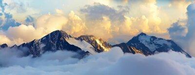Obraz Alpejski krajobraz górski