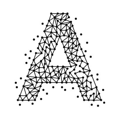 Obraz AlphabetOfPointsA