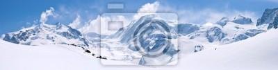 Obraz Alpy Szwajcarskie Krajobraz Górski Rząd