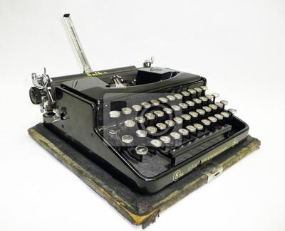 alte antike Schreibmaschine, 1920, zabytkowe maszyny do pisania