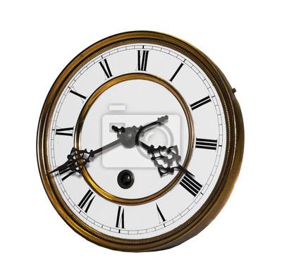 alte antike Uhr, vintage zegar 1900
