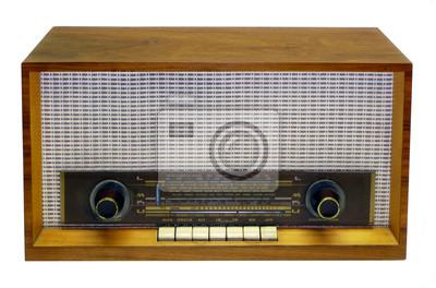 Altes antikea Radio