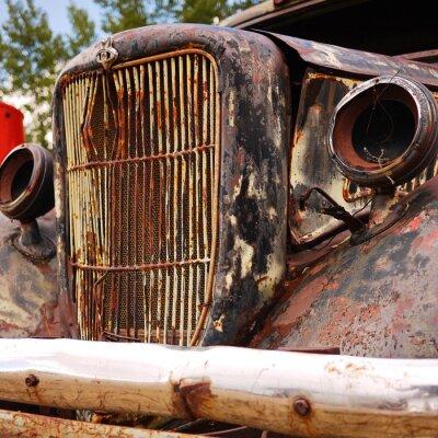Obraz Altes Auto (schrott)