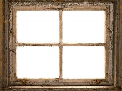 Altes Fenster, Fensterrahmen, okno, vintage, shabby