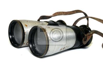 Altes Fernglas, Militärglas, Feldstecher, vintage