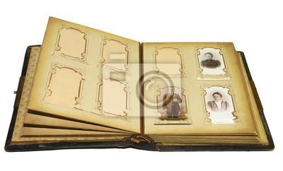Altes secesyjnym Fotoalbum, Buch, albumu