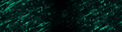 Obraz Amazing abstract dark green texture. 3d vertical banner emerald royal color. Oil marble picture with glowing effect. Wavy fluid trendy modern background. Ad summer tropical sale. Fresh design frame BG