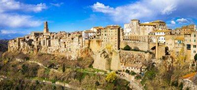 Obraz amazing Italy series - panorama of Pitigliano, Tuscany