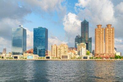 Amazing Kaohsiung skyline, Taiwan. 85 Sky Tower