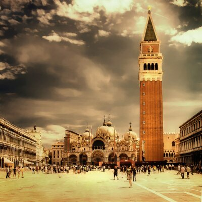 amazing Venice- artystyczne stonowanych obraz