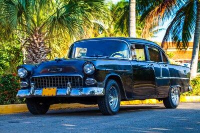 Obraz Amerikanischer Oldtimer w Kuba