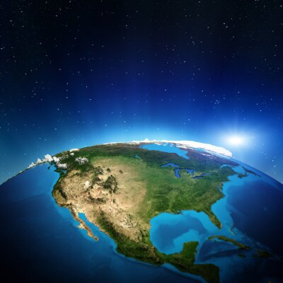 Obraz Ameryka Północna