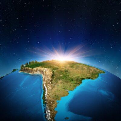 Obraz Ameryka Południowa