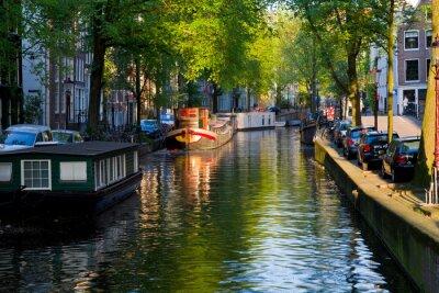 Obraz Amsterdam, canale