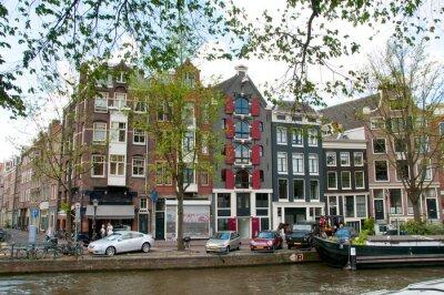 Obraz Amsterdam Kanał