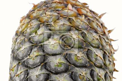 Ananas / Zamknij się tekstury świeżych dojrzałych ananasa.