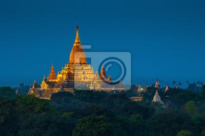 Ananda świątynia. Równina Bagan, Myanmar.