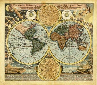 Obraz ancient map
