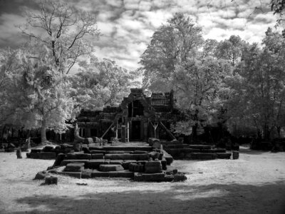 Obraz Angkor Wat -rozkosz Khmerów architektury i sztuki nb.32