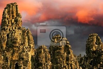 Angkor Wat sunrise w Siem Reap. Kambodża