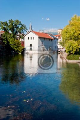 Annecy, Francja, wieś view
