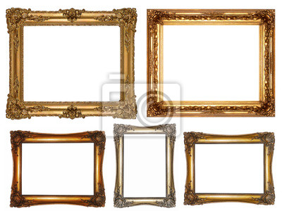 antike Bilderrahmen, Rahmenset, obramowanie, ramki