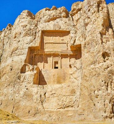 Antyczne mauzolea w Naqsh-e Rustam, Iran