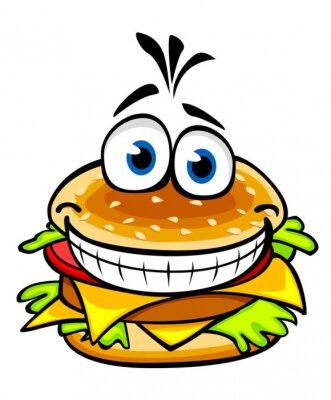 Obraz Apetyczny hamburger