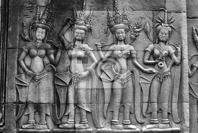 Apsara, Angkor Wat