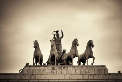 Arc of the victory of Madrid