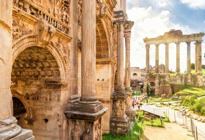 Obraz Arch of Emperor Septimius Severus n Rome