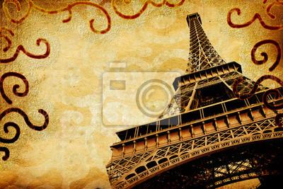 Archiwalne album fotograficzny - Paryż