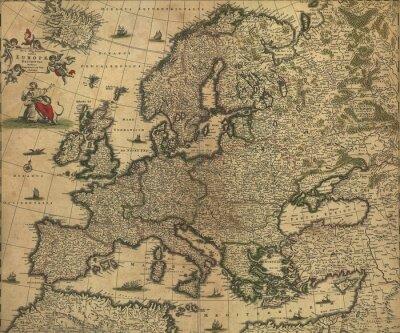 Obraz Archiwalne Europa