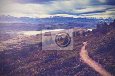 Archiwalne zdjęcie z Torres del Paine National Park, Patagonia, Chil