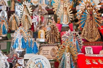 Argentina's Lujan virgin statues for sale.