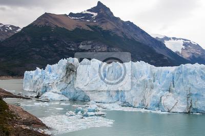 Argentyński lodowiec Perito Moreno na TLE Gor.
