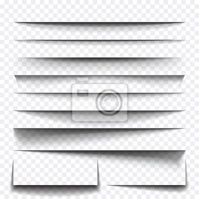 Obraz Arkusz papieru efekt cienia