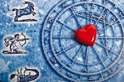 Obraz Astrologia i miłość koncepcji