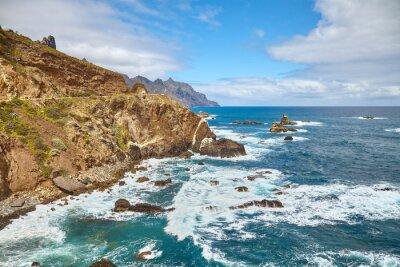 Atlantic Ocean coast of Tenerife, Spain.