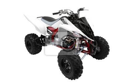 atv quad-bike odizolowanych