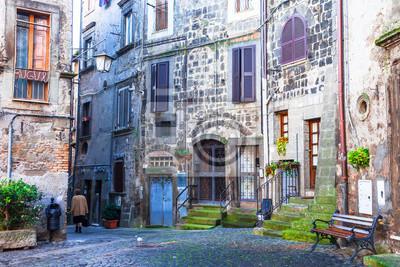 autentyczne urocze średniowieczne wioski Włoch
