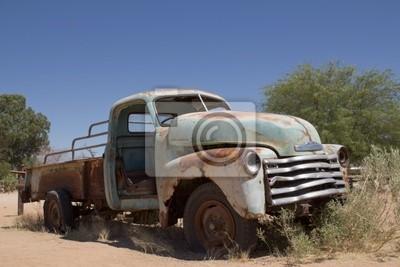 Autofriedhof w Namibii