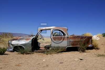 Autowrack w Namibii